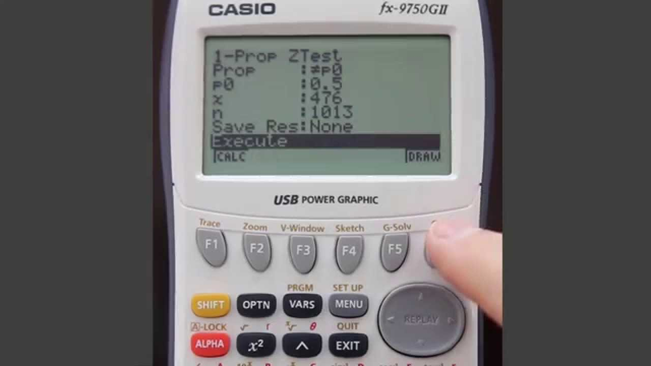Casio fx 9750GII Vs TI 84 Plus