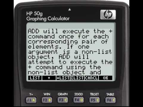 HP 50g Vs TI-89