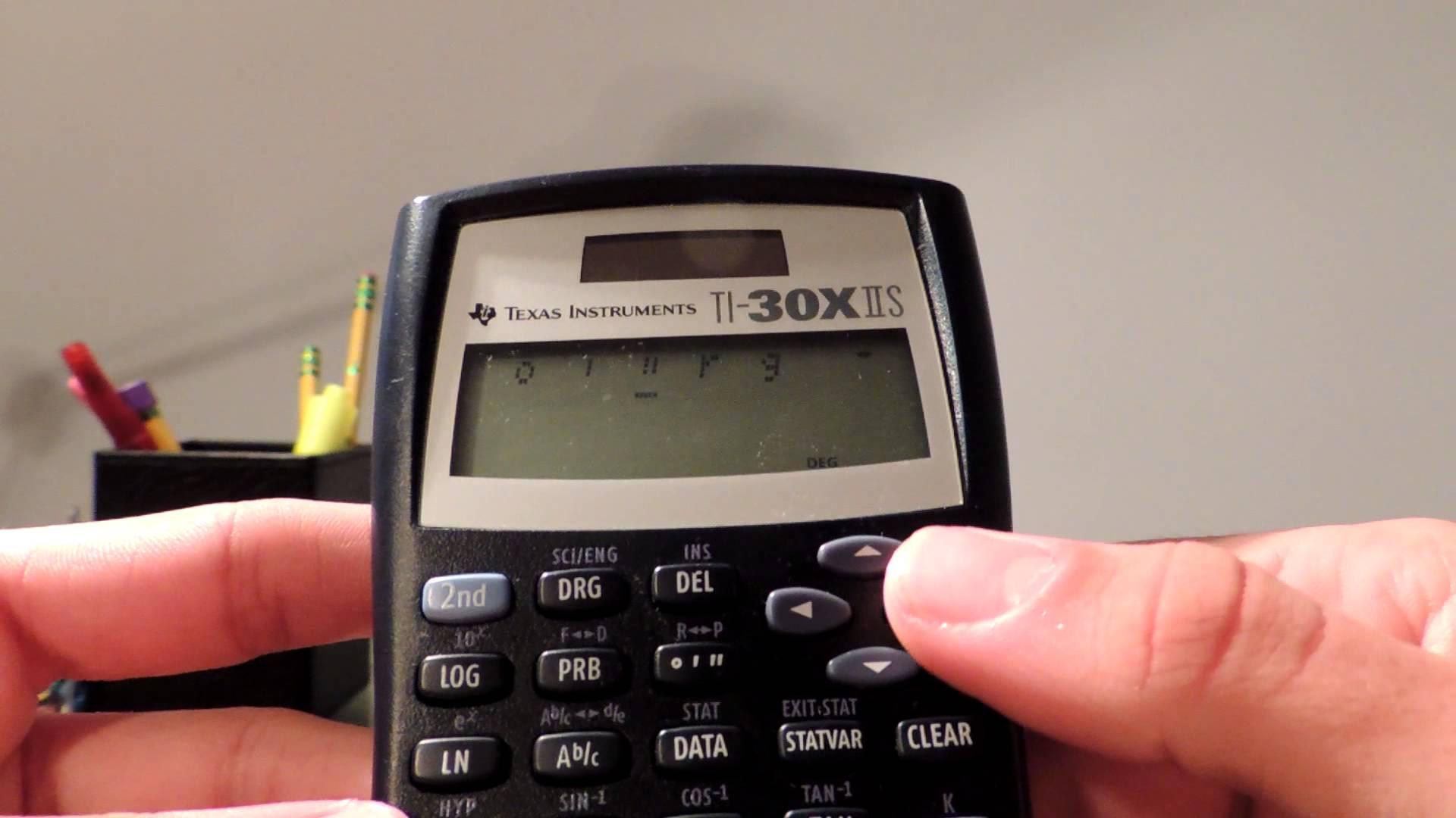 TI-30X IIS Vs TI-30XS