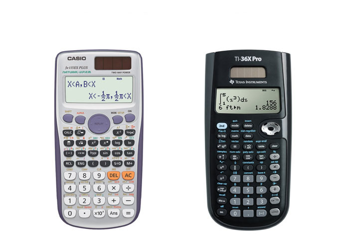 Casio FX-115ES Plus Vs TI-36X Pro