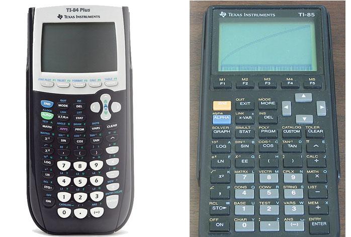 TI 85 Vs TI 84