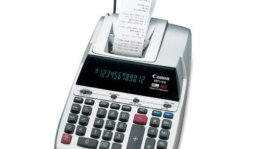 Canon MP11DX Review: Budget-Friendly Printing Calculator