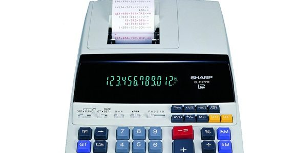 Sharp EL-1197PIII Heavy Duty Color Printing Calculator Review: Feature-Packed