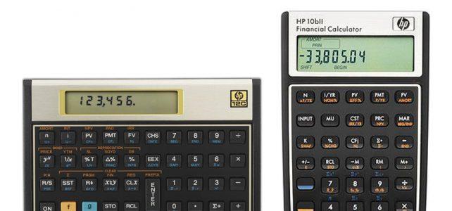 HP 12C vs HP 10bII