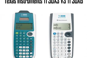 Texas Instruments TI 30XS vs TI 30XB