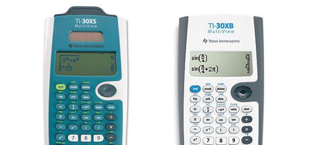 Texas Instruments TI 30XS vs TI 30XB