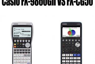 Casio FX-9860GII VS FX-CG50