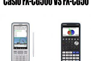 Casio FX-CG500 VS FX-CG50
