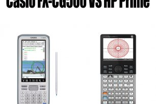 Casio FX-CG500 VS HP Prime